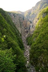 Soca Tal Boca Wasserfall