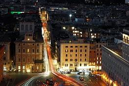 Rom Denkmal Straße