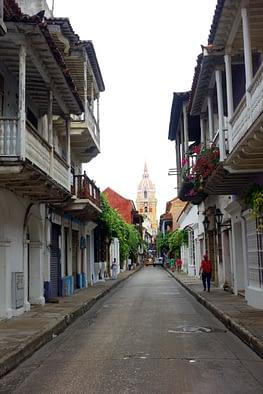 Cartagena Straße
