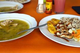 Kolumbien Essen Menu del Dia