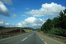 Chile Reisetipps Transport Straße