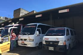 Kolumbien Reisetipps Transport Bus
