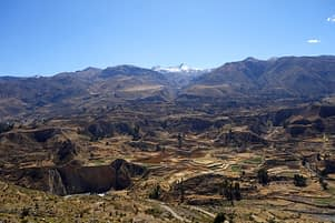 Colca Canyon Landschaft