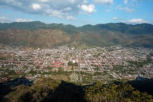 Jinotega Blick auf Stadt