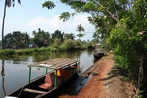 Kerala Backwaters Fluss