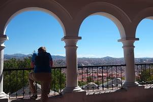 Sucre Blick auf Stadt Matthias