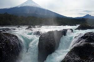 Vulkan Osorno Saltas Petrohue