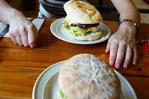 Australien Essen Burger