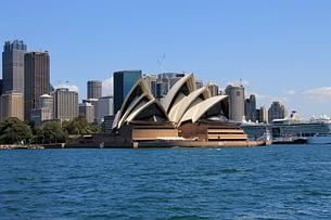 Sydney Oper vom Wasser