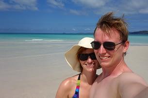 Whitehaven Beach Paar