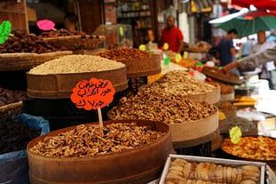 Amman Markt Nüsse