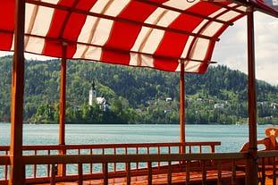 Bled Boot und Kirche