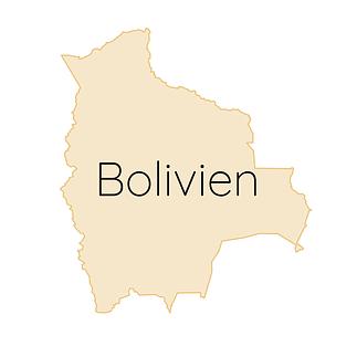 Bolivien Karte