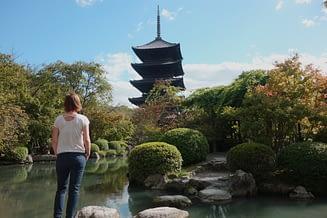 Kyoto Tempel Franzi