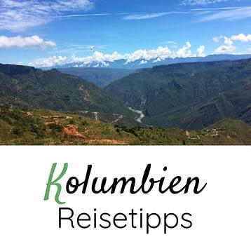 Kolumbien Reisetipps Box
