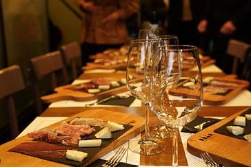 Rom Foodtour Secondo Tradizione Tisch