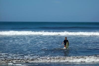 Jiquilillo Surfen Franzi