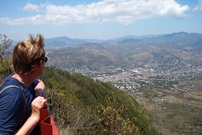 Matagalpa Blick auf die Stadt Matthias