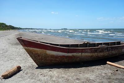 Ometepe Boot und See