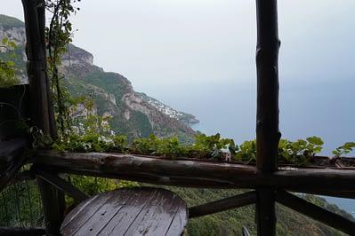 Amalfiküste Sentiero degli Dei Chiosko Ausblick