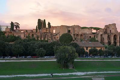 Circus Maximus Blick Palatin
