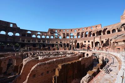 Rom Kolosseum Untergrund