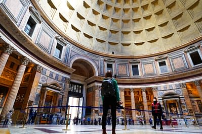 Rom Pantheon Franzi Rotunde