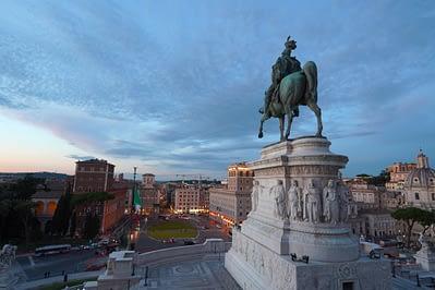 Rom Vittoriano Statue