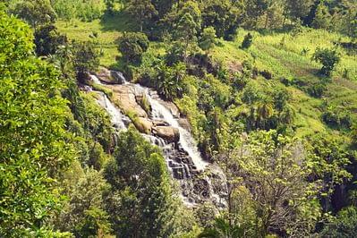 Kisasa Wasserfall oben