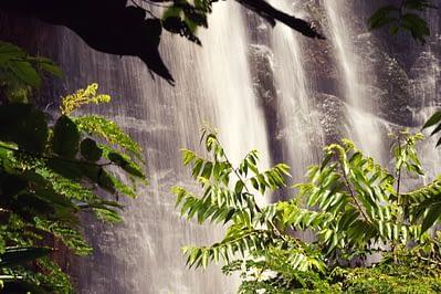 Kisasa Wasserfall unten