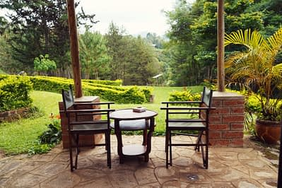 Lushoto Lawns Terrasse