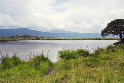 Ngorongoro Krater Seeblick