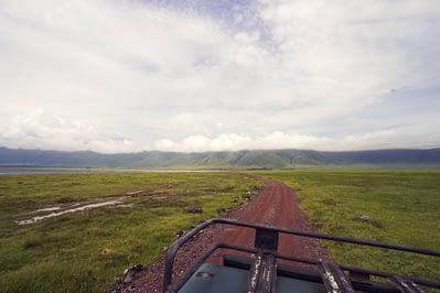 Ngorongoro Krater Straße