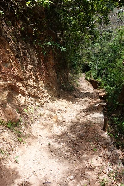 Ometepe Wasserfall Weg