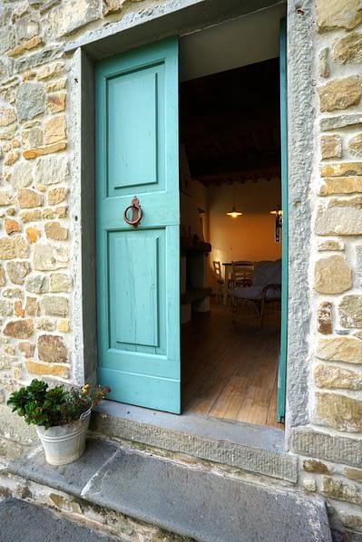 Toskana Casa Gave Eingang