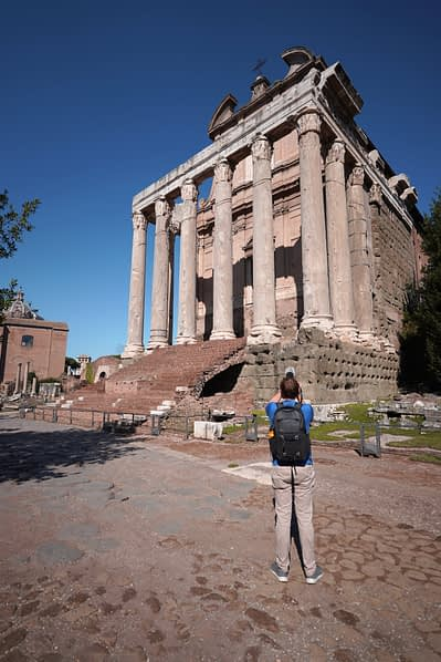 Forum Romanum Kirche Matthias