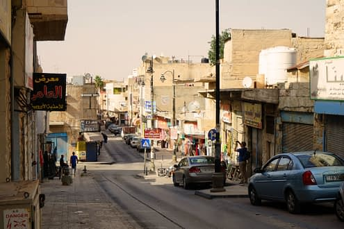 Ramadan leere Straßen