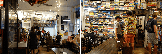 New York Greenwich Spiele Cafe