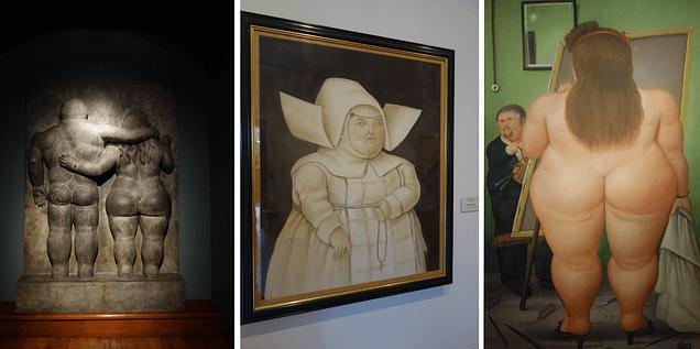 Bogota Botero Museum Collage
