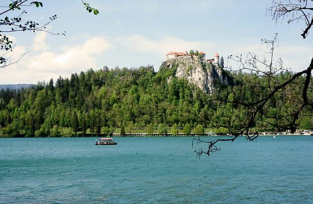 Bled Burg und See