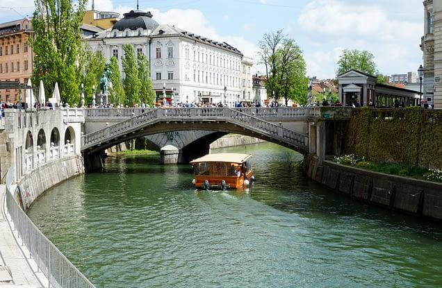 Ljubljana 3 Brücken