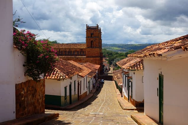 Barichara Dorf