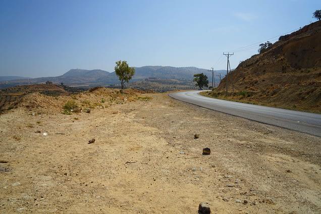 Jordanien Rundreise Straße