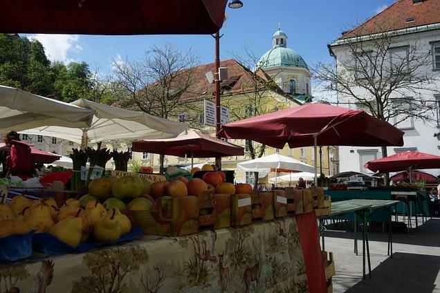 Ljubljana Markt
