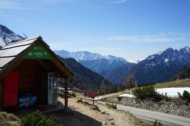 Soca Tal Vrsic Pass