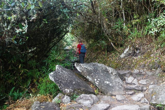 Machu Picchu Mountain Aufstieg