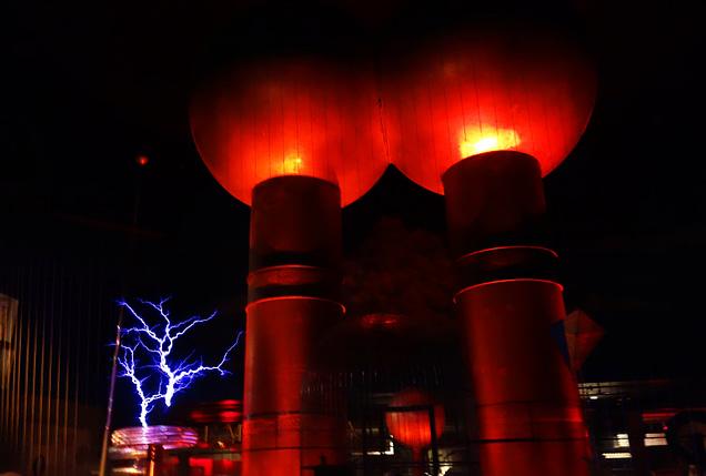 Boston Museum of Science Elektrizität