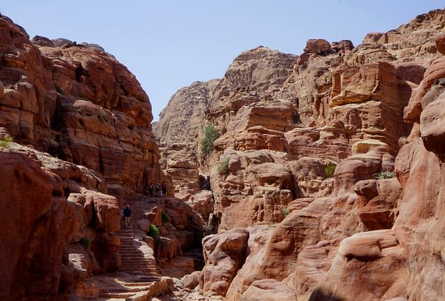 Petra Weg zur Monastery