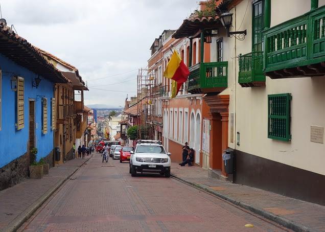 Bogota Straße
