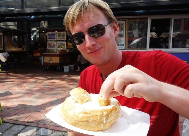 Boston Quincy Market Clam Chowder